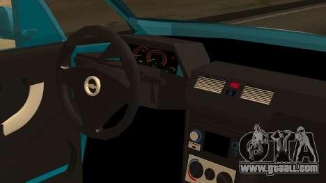 Chevrolet Meriva de Seguridad Vial for GTA San Andreas back view