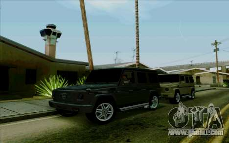 Mercedes-Benz G500 1999 for GTA San Andreas