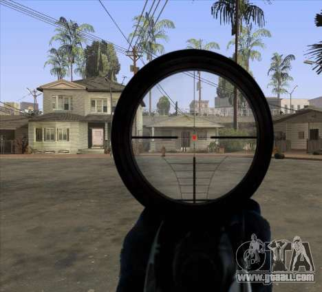 Sniper Scope v2 for GTA San Andreas third screenshot