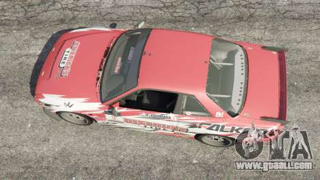 Nissan Silvia S13 v1.2 [with livery] for GTA 5