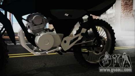 Zanella RX150 Cross for GTA San Andreas right view