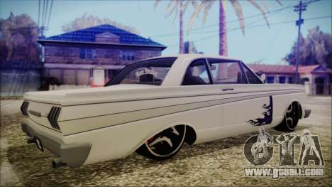 Blade Custom for GTA San Andreas left view