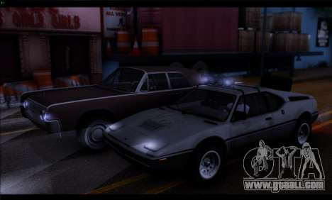 BMW M1 E26 Rusty Rebel for GTA San Andreas back view