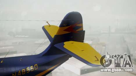 Grumman G-21 Goose N48550 for GTA San Andreas back left view