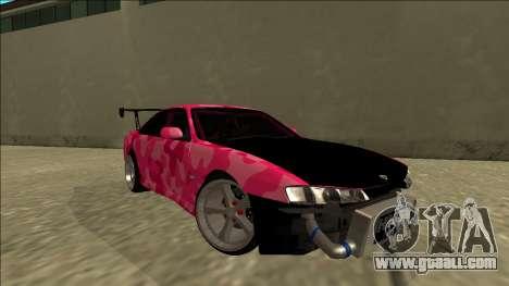 Nissan Silvia S14 Drift for GTA San Andreas right view