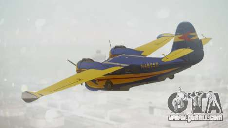 Grumman G-21 Goose N48550 for GTA San Andreas left view