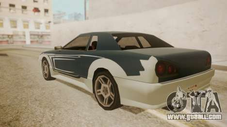 Elegy FnF Skins for GTA San Andreas upper view