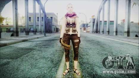 Mila Short Hair from Counter Strike v2 for GTA San Andreas second screenshot