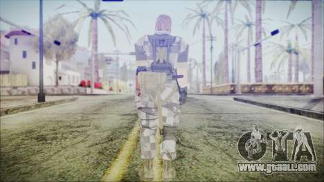 MGSV Phantom Pain Snake Normal Animals for GTA San Andreas third screenshot