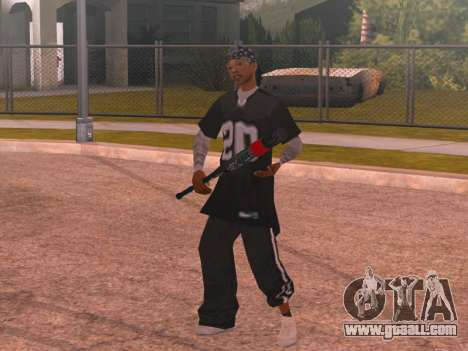 Welaso Boulevard Familis [Davis Pack] for GTA San Andreas second screenshot