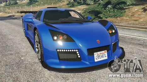Gumpert Apollo S for GTA 5