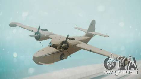 Grumman G-21 Goose WhiteBlueLines for GTA San Andreas