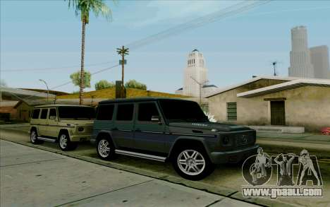 Mercedes-Benz G500 1999 for GTA San Andreas left view