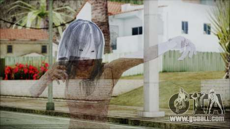 Ghost of Kayako Saeki for GTA San Andreas