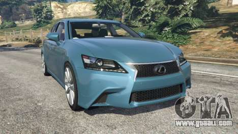 Lexus GS 350 F-Sport 2013 for GTA 5