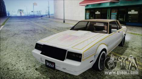GTA 5 Willard Faction Custom Bobble Version IVF for GTA San Andreas inner view