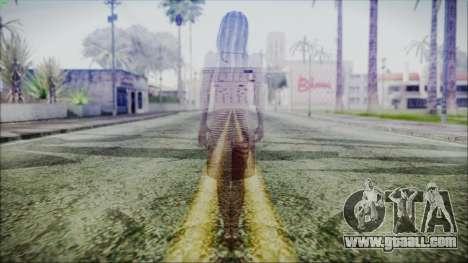 Ghost of Kayako Saeki for GTA San Andreas third screenshot