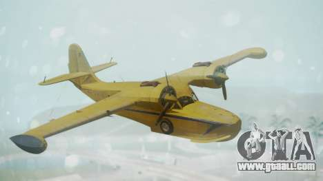 Grumman G-21 Goose VHLXD for GTA San Andreas