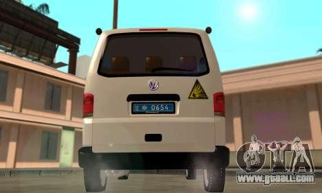 Volkswagen Transporter Minesweeper Ukraine for GTA San Andreas right view