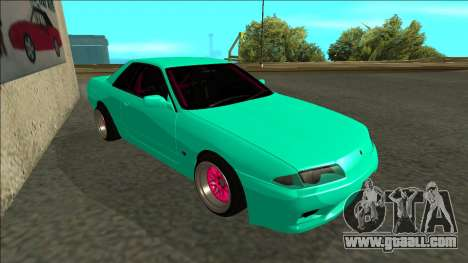 Nissan Skyline R32 for GTA San Andreas left view