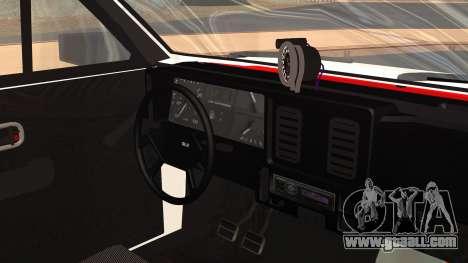 Chevrolet Chevette SLE 88 for GTA San Andreas right view