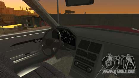 Sentinel PFR HD v1.0 for GTA San Andreas inner view