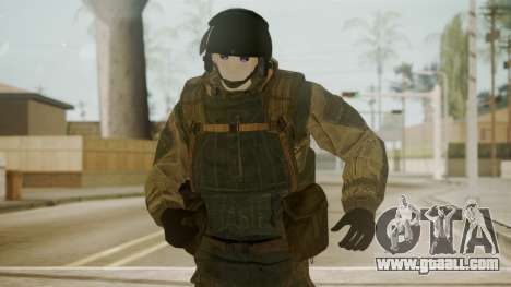 Spetsnaz Operator - 2010s for GTA San Andreas third screenshot