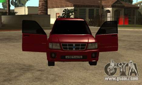 Subaru Forester 2006 for GTA San Andreas back left view