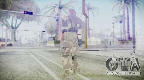 MGSV Phantom Pain Snake Scarf Splitter for GTA San Andreas third screenshot