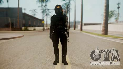 The Winter Soldier for GTA San Andreas second screenshot