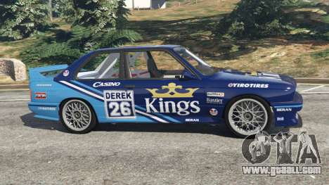 BMW M3 (E30) 1991 [Kings] v1.2 for GTA 5