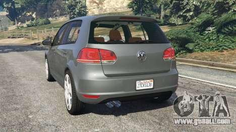 Volkswagen Golf Mk6 v2.0 for GTA 5
