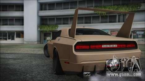 Dodge Challenger Daytona for GTA San Andreas left view