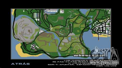 HD Radar Map for GTA San Andreas forth screenshot