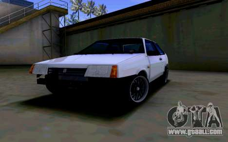 VAZ 2108 V2 for GTA San Andreas back view