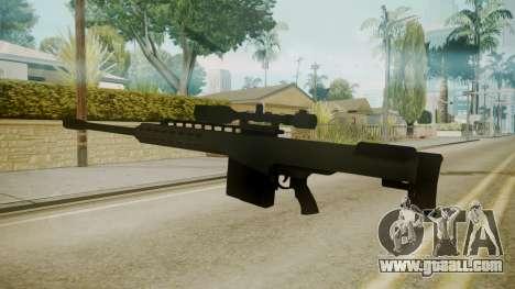 GTA 5 Sniper Rifle for GTA San Andreas second screenshot