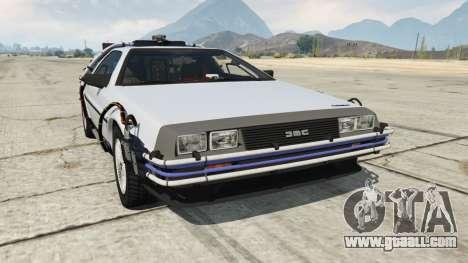 DeLorean DMC-12 Back To The Future for GTA 5