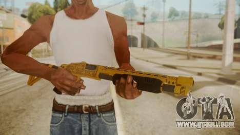 GTA 5 Pump Shotgun for GTA San Andreas third screenshot