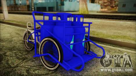 Bici Colgas for GTA San Andreas right view