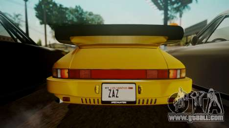 RUF CTR Yellowbird (911) 1987 HQLM for GTA San Andreas back view
