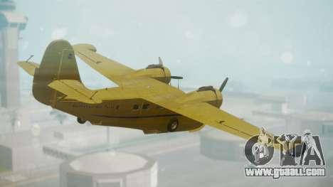 Grumman G-21 Goose VHLXD for GTA San Andreas left view
