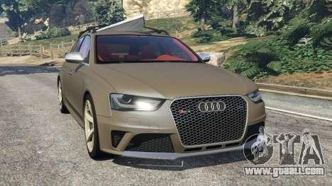 Audi RS4 Avant 2013 for GTA 5