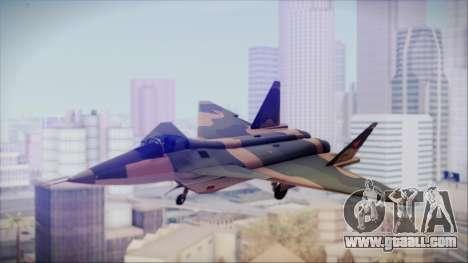 Mikoyan MIG 1.44 Flatpack Venezuelan Air Force for GTA San Andreas