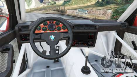 GTA 5 BMW M3 (E30) 1991 [Z5] v1.2 right side view