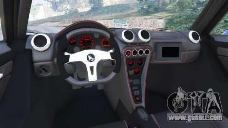 GTA 5 Gumpert Apollo S rear right side view