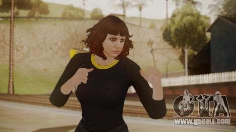 GTA Online - Custom Girl (Lowrider DLC Clothes) for GTA San Andreas