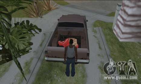 To carry the corpse for GTA San Andreas third screenshot