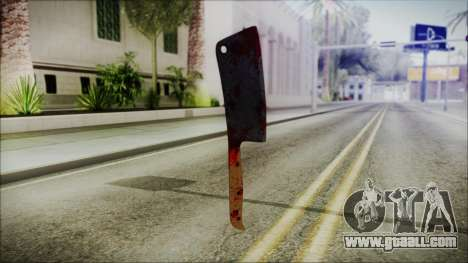 Helloween Butcher Knife Square for GTA San Andreas second screenshot