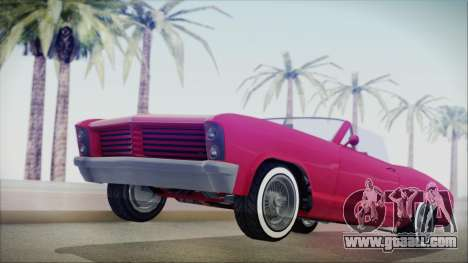 GTA 5 Albany Buccaneer Custom IVF for GTA San Andreas