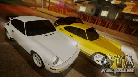 RUF CTR Yellowbird (911) 1987 HQLM for GTA San Andreas left view